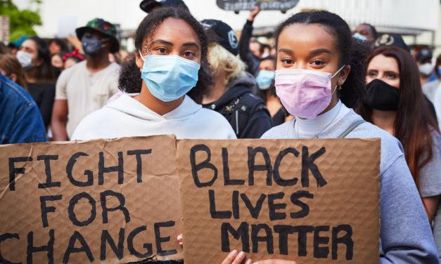 MOUVEMENT DES BLACK LIVES MATTERS VUE DE FRANCE
